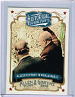 2012 Topps Allen Ginter Historical Turning Points HTP8 Allied Victory WW II