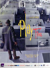 PLAYTIME JACQUES TATI ARCHITECTURE REISSUE LARGE FRENCH MOVIE POSTER
