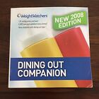 Weight Watchers DINING OUT Companion Points Book 2008