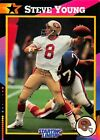 1992  STEVE YOUNG - Kenner Starting Lineup Card - SAN FRANCISCO 49ERS