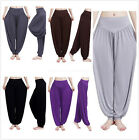 Women Harem Genie Aladdin Causal Dance Yoga Pants Belly Baggy Jumpsuit