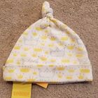SWEET NEW GYMBOREE PREEMIE UP TO 7LBS YELLOW CROWN CAP HAT REBORN