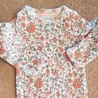 SWEET NWOT CARTERS PREEMIE BRIGHT FLORAL FOOTED SLEEP N PLAY OUTFIT REBORN