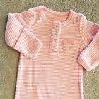 SWEET CARTERS PREEMIE PINK STRIPED SLEEP GOWN REBORN