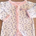SWEET CARTERS PREEMIE PINK  BLUE CHERRIES FOOTED SLEEP N PLAY OUTFIT REBORN