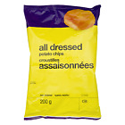 No Name All Dressed Potato Chips 200g Imported from Canada