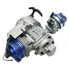 49CC 50CC 2 STROKE ENGINE MOTOR POCKET MINI BIKE SCOOTER ATV QUAD DIRT BIKE BLUE