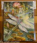 8 Leanin Tree Note Cards Dragonflies Pond Lilly Pads Jody Bergsma Made in USA