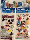 Lot Disney Scrapbook Stickers Packages Mickey Mouse Donald Duck Minnie Vacation