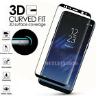 Full Cover Tempered Glass Screen Protector F Samsung Galaxy S8 S9 Plus Note 8 S7