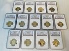 US Mint 1 Presidential Dollar NGC 13 Coin Set