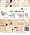 Prima Love Clippings 6x6 Collection Kit 27 Sheets by Frank Garcia Paper Pad