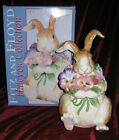 Fitz and Floyd Halcyon Bunny Rabbit Cookie Jar New in Box