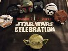 Star Wars Celebration Exclusive 2017 Beanie Plush Complete Set and Bag Tote