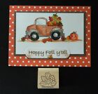 Stampin up stamp Bunch Fall COLORED LEAVES Harvest MEMORIES loads of love su