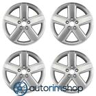 Dodge Avenger 2007 2010 18 Factory OEM Wheels Rims Set Machined with Silver