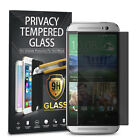 For HTC One M8 Privacy Anti Spy Tempered Glass Screen Protector