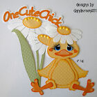 Easter Die Cuts Chick Paper Piecing PreMade Border Scrapbook Album danderson651