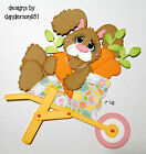 Easter Die Cuts Bunny Paper Piecing PreMade Border Scrapbook Album danderson651