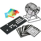 Deluxe Metal Frame Bingo Game Board Set with 5