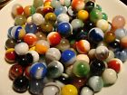 100 Vintage Marbles Instant Pre-1950s Collection G-NM Akro Agate Master Marble