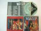 W.A.S.P. - Inside The Electric Circus CD  Japan 1986  1st press   CP32-5177