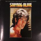 Staying Alive OST CD Soundtrack 1983 Bee Gees Frank Stallone Far From Over RARE
