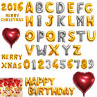 16 42 Foil Letter Number Heart Huge Balloons Birthday Wedding Party Decoration