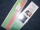 Creative Memories Holiday Border  Lines Red Green Sticker Packs