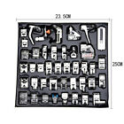 42 PCS/Set Sewing Machine Foot Domestic Feet Snap On for Brother Singer Janome