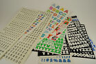 Huge Collection Scrapbooking Letters Alphabet Numbers Used Zoo Stickopotamus