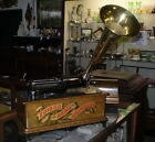 Rare Edison Red Banner Home Phonograph Model A Circa 1901