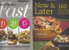 FAST FABULOUS FAST+NOW  LATER Weight Watchers LOT Recipes CookbookI COMBINE
