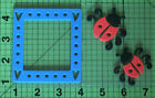 Chunky Layer Foam Stamps Lady Bugs and Frame Stenciling Scrapbooking Home Decor