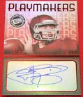 2014 PRESS PASS PLAYMAKERS JOHNNY MANZIEL TEXAS A&M #d 10 AUTO BROWNS RC ROOKIE