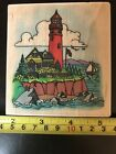 Embossing Arts Lighthouse rubber stamp NEW