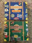 Reproduction Luggage Labels Stickers 2 Boxes of 20 Vintage Hotel Motel Decals