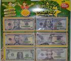 3 Pack(540Pcs) Play Money In American Currency Cash Bill 1/5/10/20/50/100 Dollar