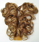 NEW! Curly Bendable Two-Wire Flexible Plastic Comb Hairpiece UpDo  CHOOSE COLOR!