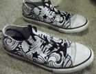 Converse One Star Canvas Paisley Print Skater Shoes Sneakers Womens Sz 6 FreeSh