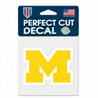 Michigan Wolverines 4 Inch NCAA Perfect Cut Decal Sticker Free Shipping