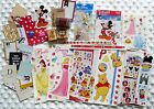 Lot DISNEY Scrapbooking Stamps supplies Mickey Princesses more