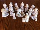 Precious Moments Lot  14 Figurines Signed Sam Butcher Life saver Great   PM