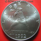 1992 USA $1 DOLLAR .80oz SILVER OLYMPICS BASEBALL PITCHER NOLAN RYAN COIN 38mm