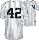Mariano Rivera MLB NY Yankees Signed White Jersey w Patch Steiner Sports COA