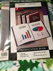 Acco Presentation Book Report Display Binder 24 Pockets 48 Pages