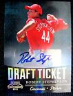 Robert Stephenson RC 2011 Playoff Contenders Draft Ticket Rookie Autograph Auto