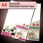Water Slide Decals WaterSlide Transfer Paper A4 Inkjet Clear or White Lot