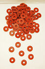 100 Tattoo Machine 8 Over sized Red Fiber Shoulder Washers Binder Parts USA