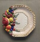 Fitz & Floyd Classics Venezia Fruit Salad Plate, Used As Wall hanging EUC